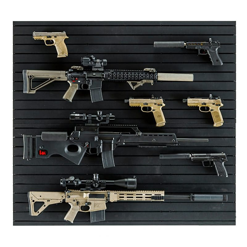 ModWall with rifles