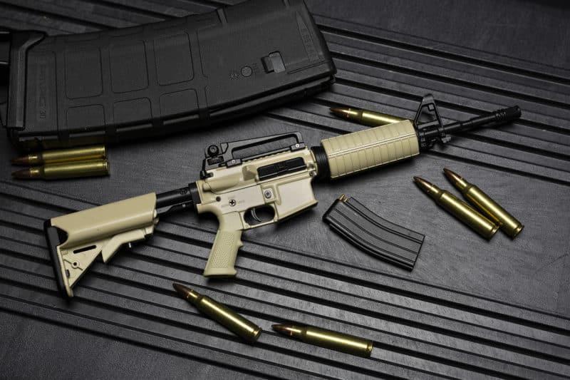 Mini ModWall Goat Guns Display